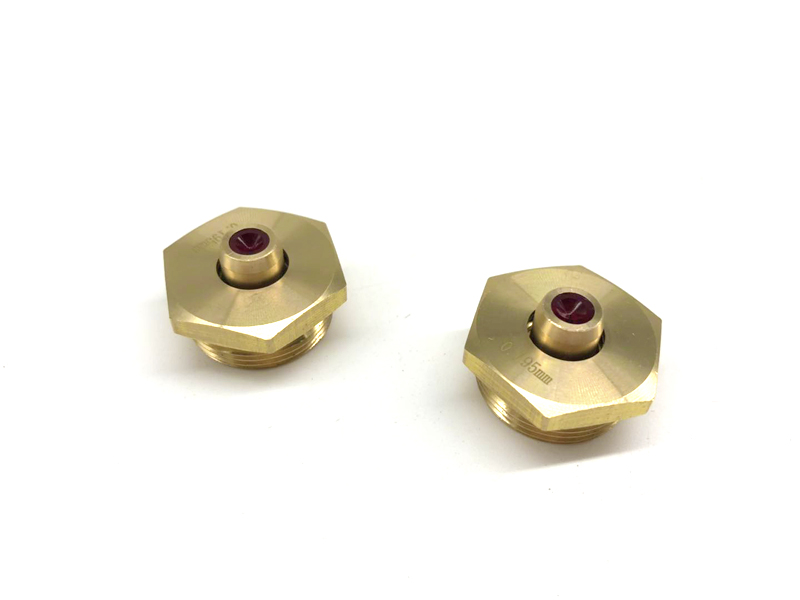 Ruby nozzle wire guide for wire cutting edm machine